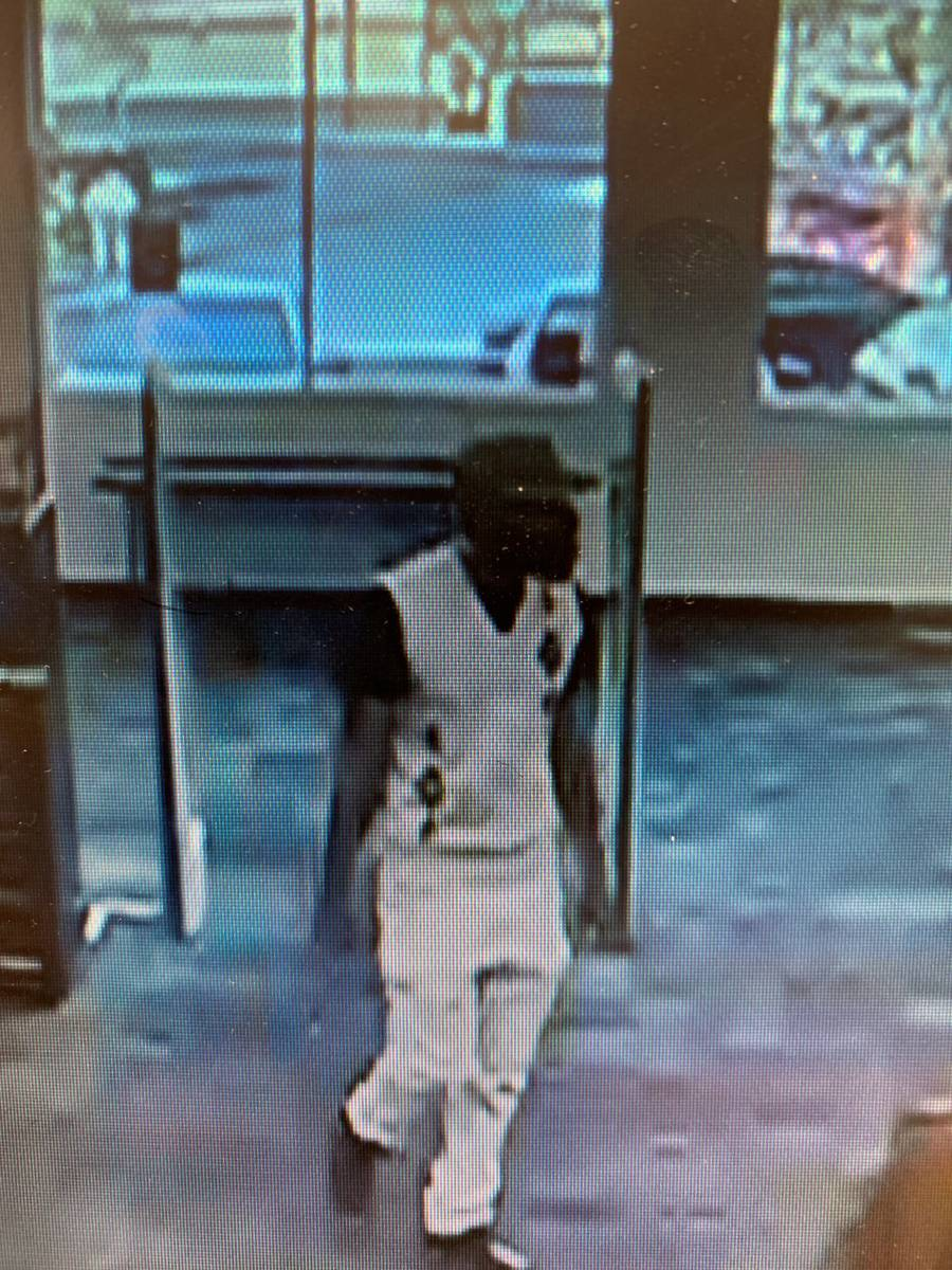 Police are searching for a man in connection to a robbery Tuesday, Marh 17, 2020, on the 1600 b ...