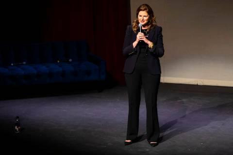 Elizabeth Blau, co-founder of WomenÕs Hospitality Initiative and CEO of Blau & Associa ...