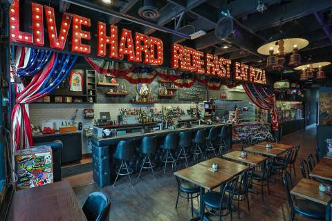 Evel Pie in downtown Las Vegas. (Shane O'Neal)