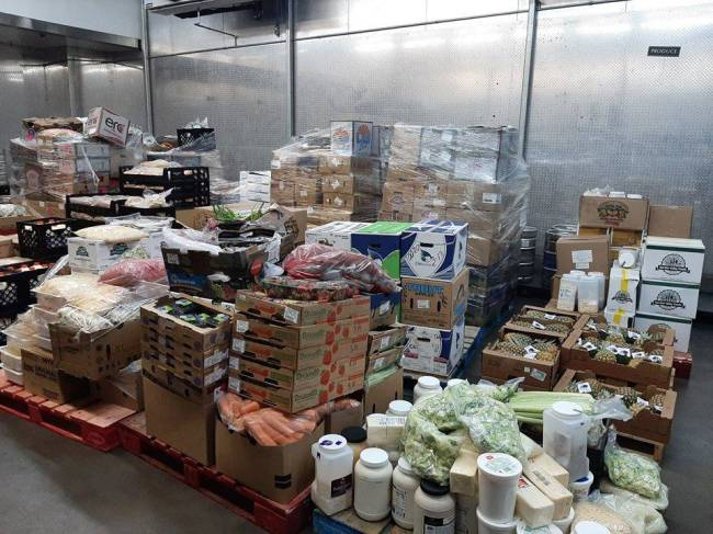Last week Treasure Island Hotel & Casino in Las Vegas donated surplus food including perishable ...
