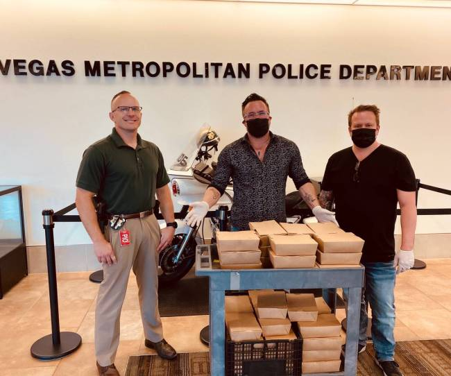 Sparrow and Wolf are donating meals to first responders as part of the Sparrow and Wolf Challen ...