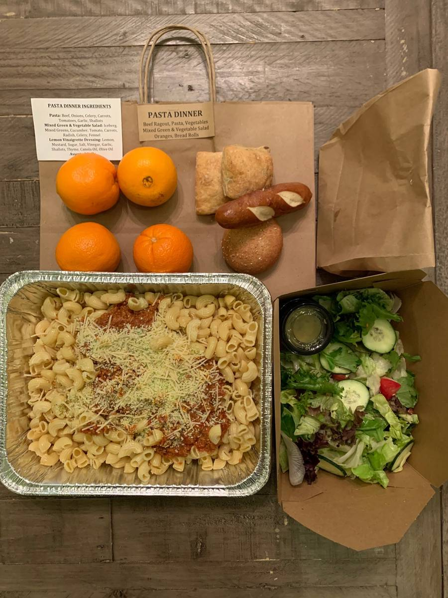 Delivered with Dignity prepares meals to be delivered to those in need. (Delivered with Dignity)