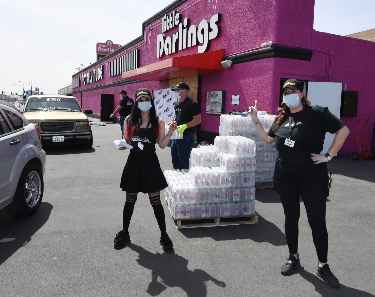 Littles Darlings giving away free cases of bottled water today (Little Darlings)