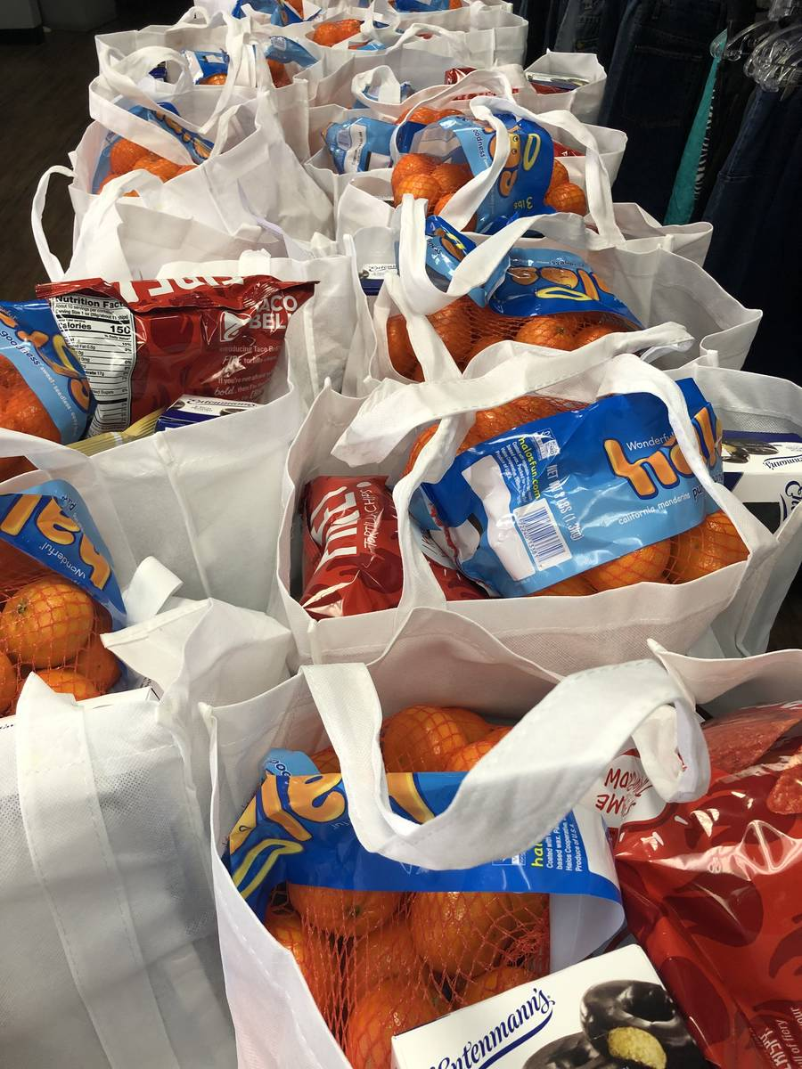 Project 150 has been hosting food distribution pick-up events to assist high school students an ...