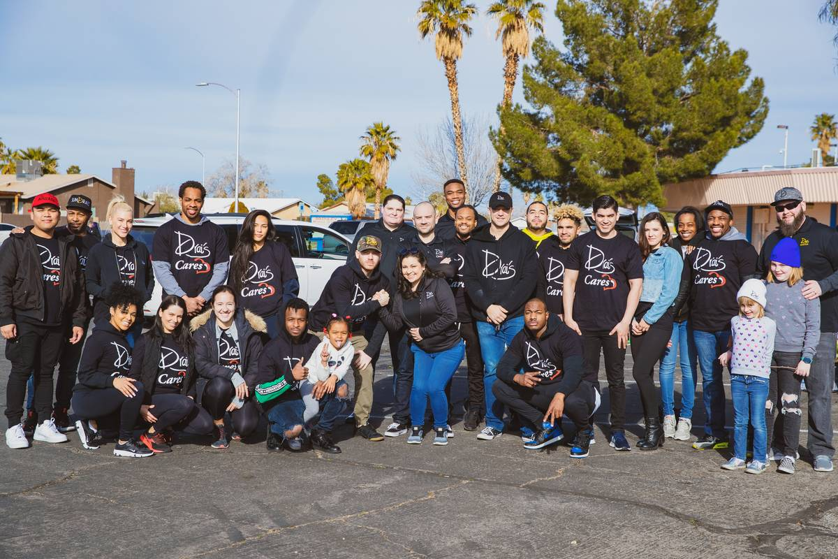 File photo of Drai's Cares team volunteers at a recent Just One Project event. (Drai's Las Vegas)