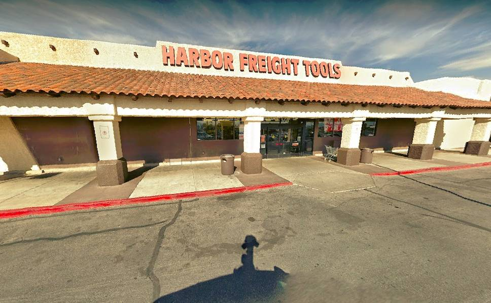 Harbor Freight. (Google Maps)
