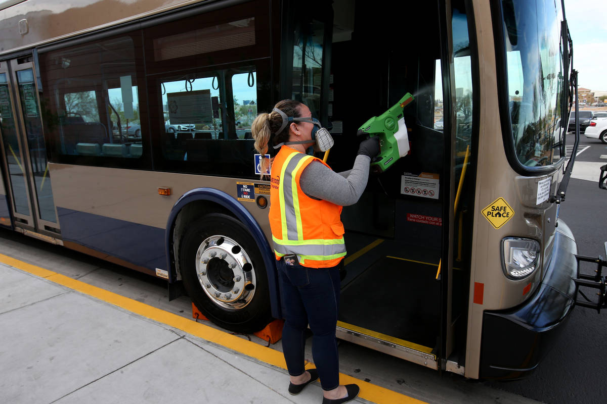 Iveth Orozco, operations manager with Regional Transportation Commission contractor Silver Stat ...