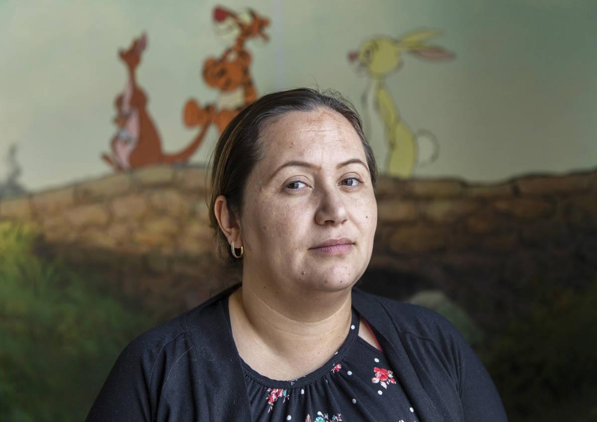 Arlene Ambriz, director of New Horizons Preschool, on Wednesday, March 18, 2020, in Las Vegas. ...