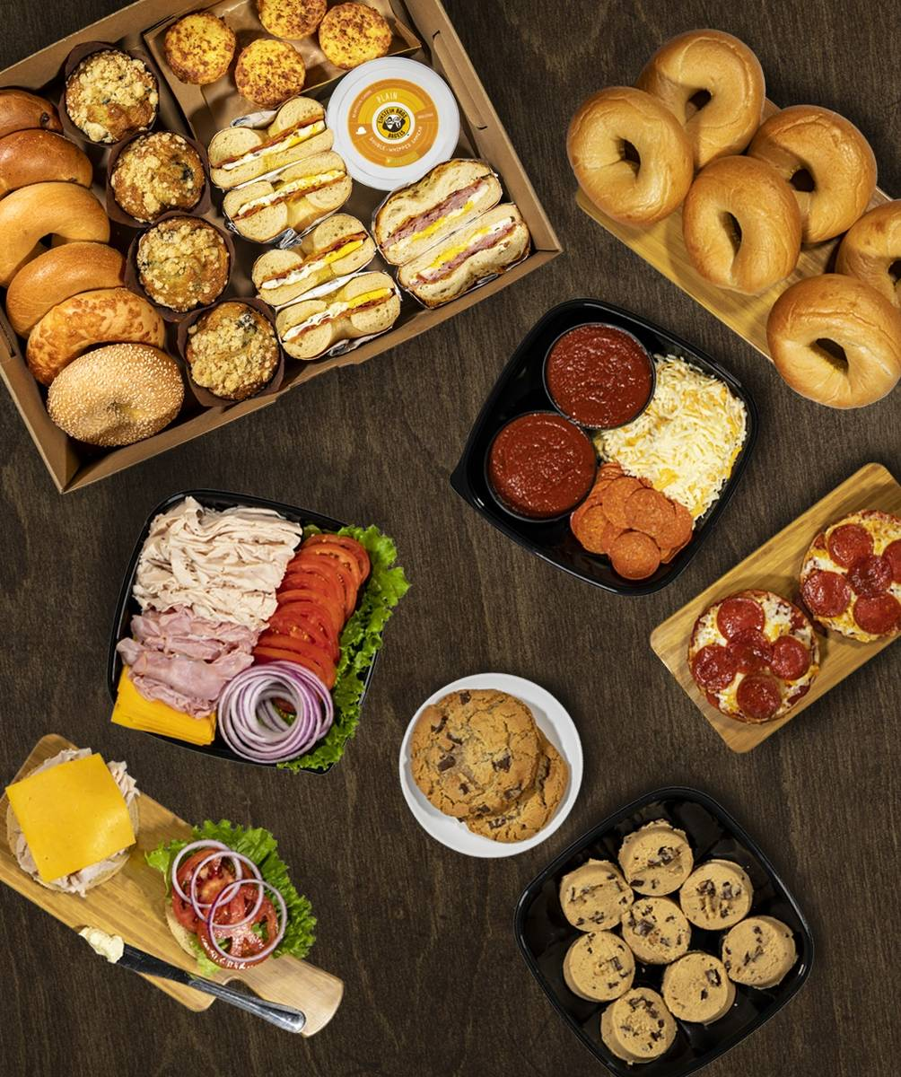 Three family meals are available at Einstein Bros. Bagels locations. (Einstein Bros. Bagels)