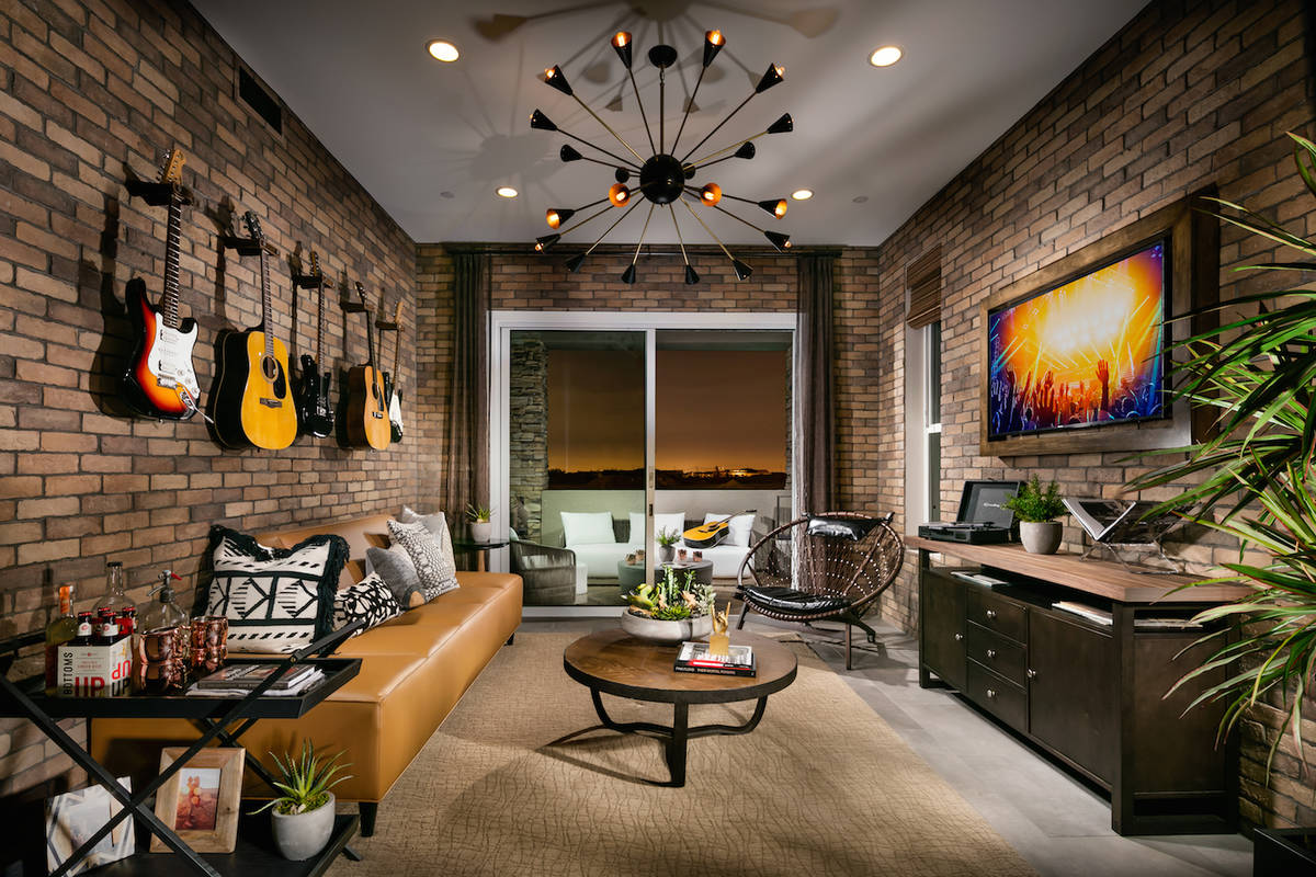 Summerlin offers a variety of condominiums, town homes, lofts and other city-style options. (Su ...