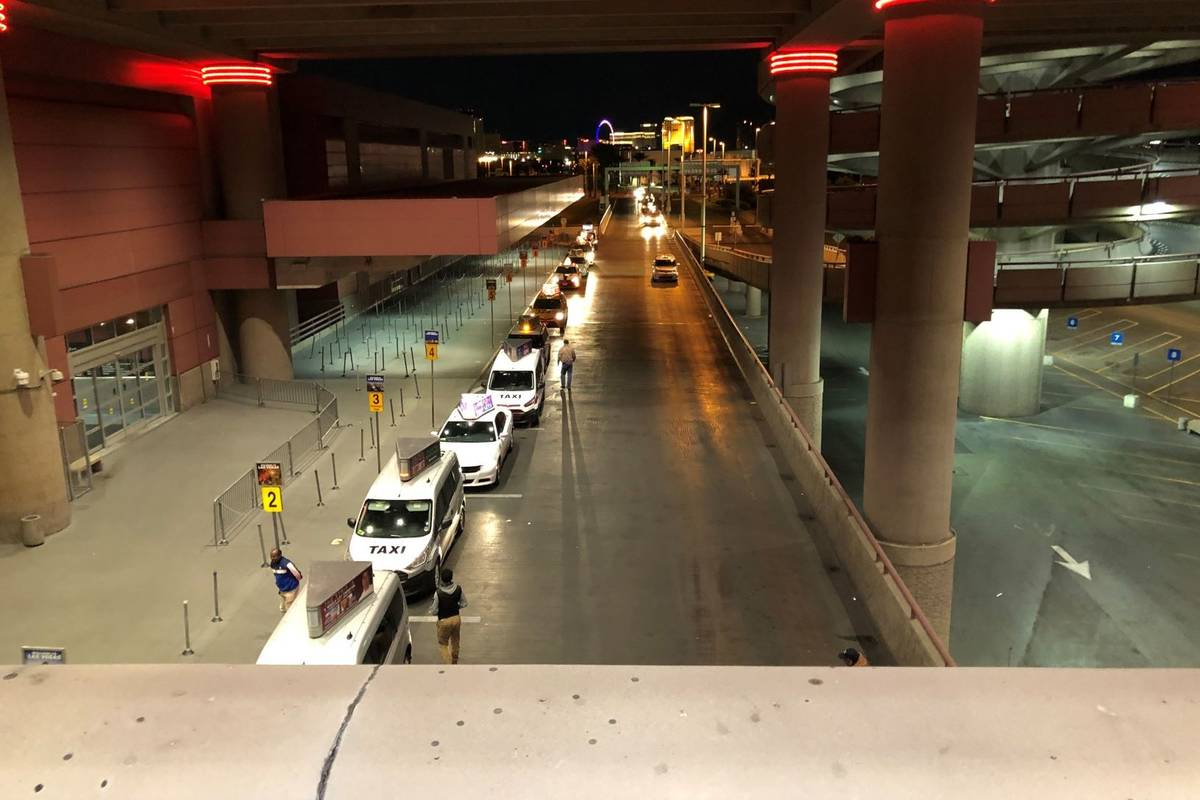 McCarran International Airport (James Schaeffer/Las Vegas Review-Journal)