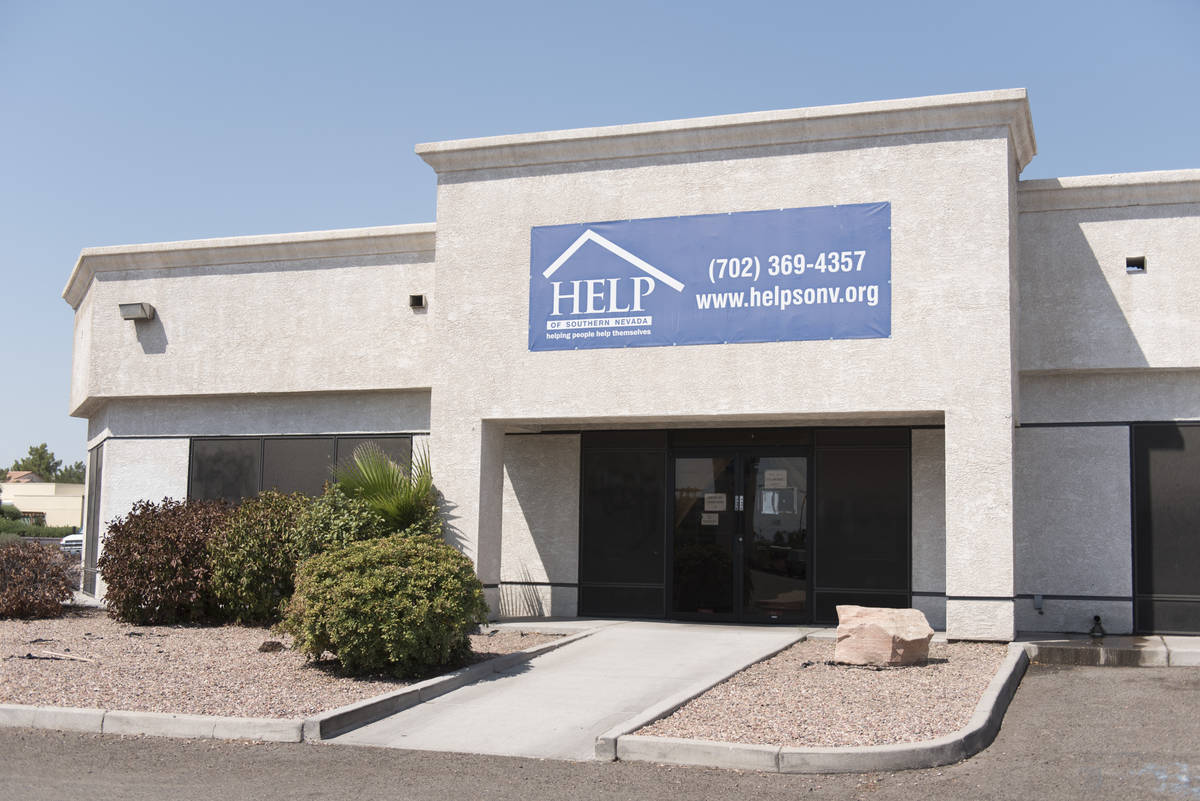 Help of Southern Nevada offices at 1640 E. Flamingo Rd. #100 is seen tin this Aug. 23, 2016, fi ...