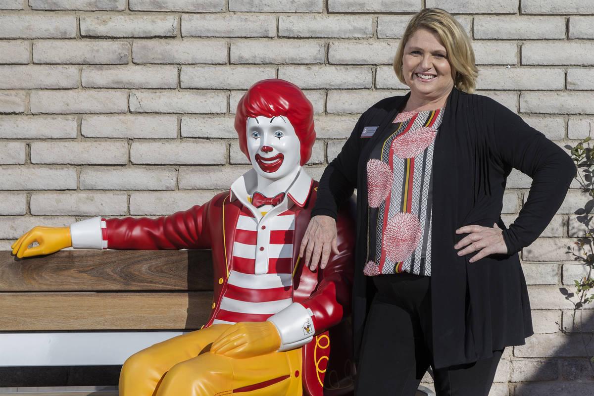 Ronald McDonald House CEO Alyson McCarthy on Thursday, Jan. 24, 2019, at Ronald McDonald House ...