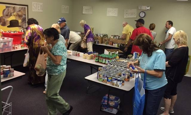 Donations to HopeLink of Southern Nevada, shown in this file photo, support food programs for s ...