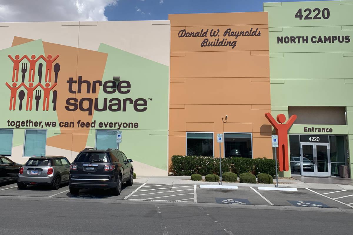Three Square has established a Coronavirus Emergency Food Fund. (Mia Sims, Las Vegas Review-Jou ...