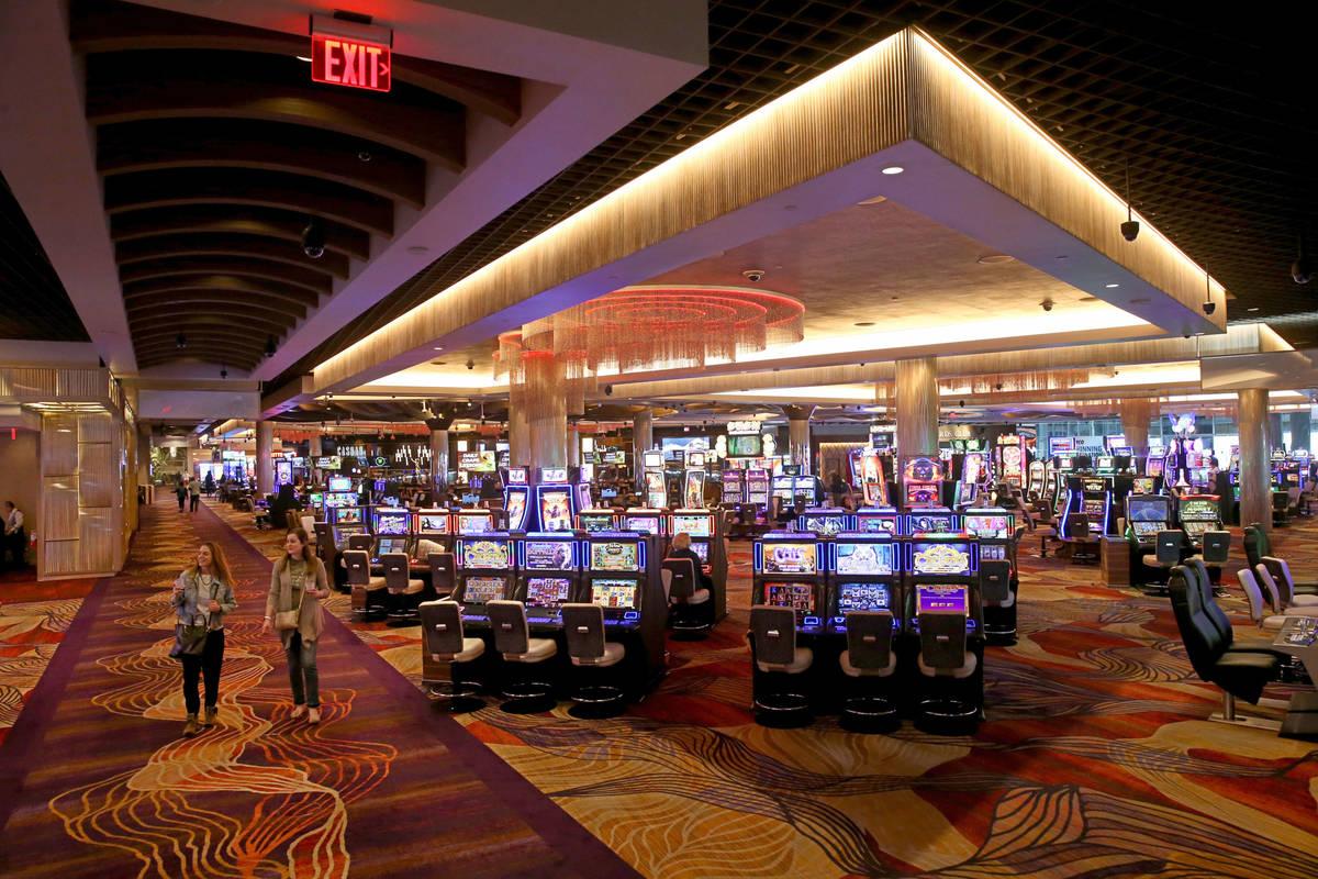 The Sahara Las Vegas on the Strip Monday, March 16, 2020. (K.M. Cannon/Las Vegas Review-Journal ...