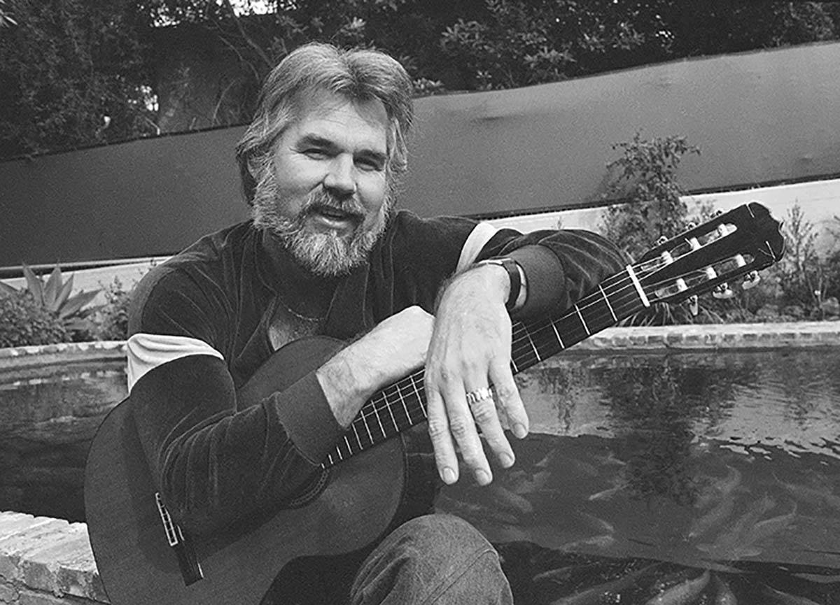 This Feb. 20, 1978 file photo shows Kenny Rogers at his home in Brentwood, Calif. Rogers, who ...
