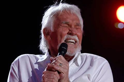 In this June 9, 2012, file photo, Kenny Rogers performs at the 2012 CMA Music Festival in Nashv ...