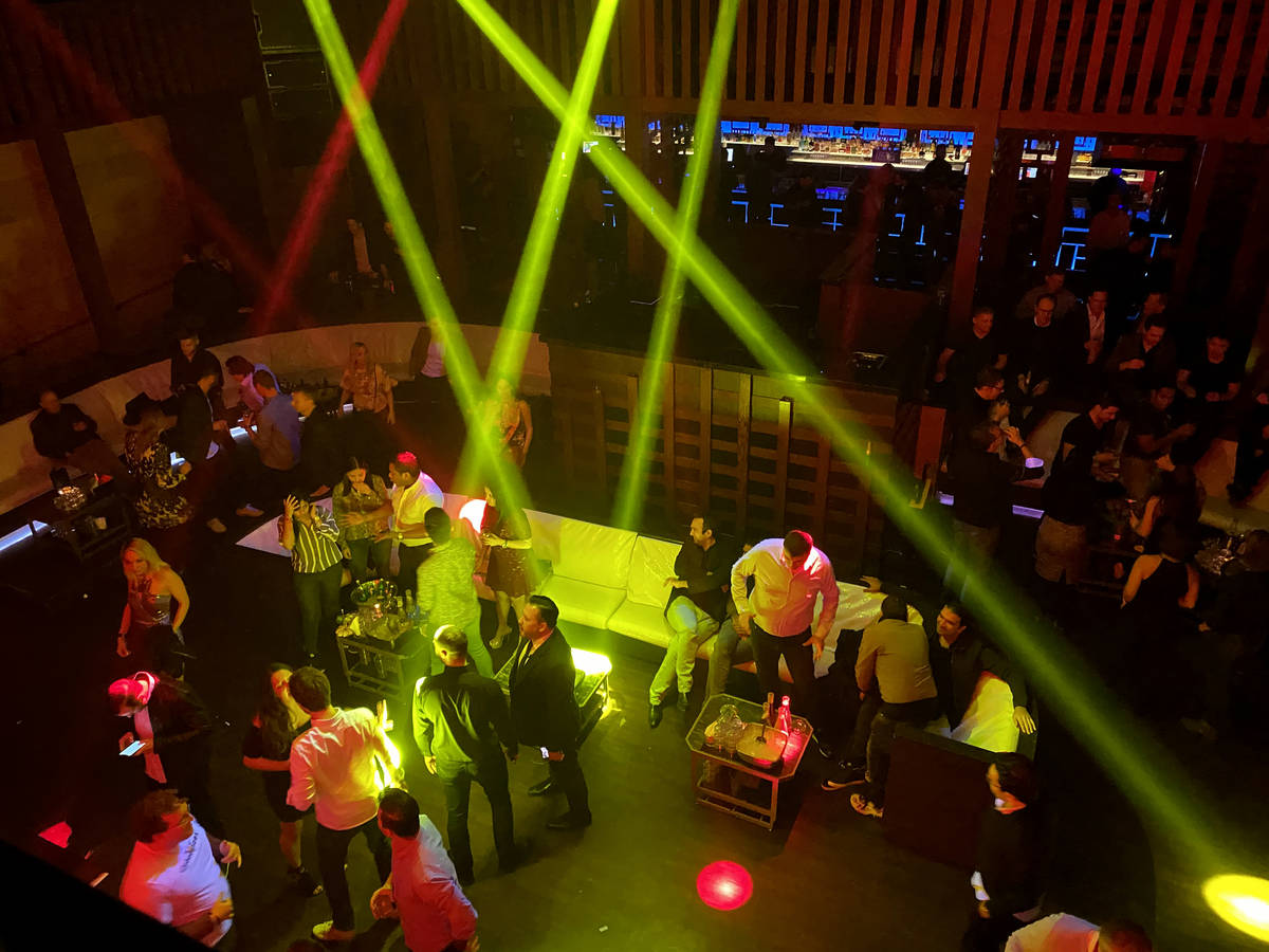 CES conventioneers and clubgoers during the DreamlandXR Closing Night Party at Hakkasan Nightcl ...