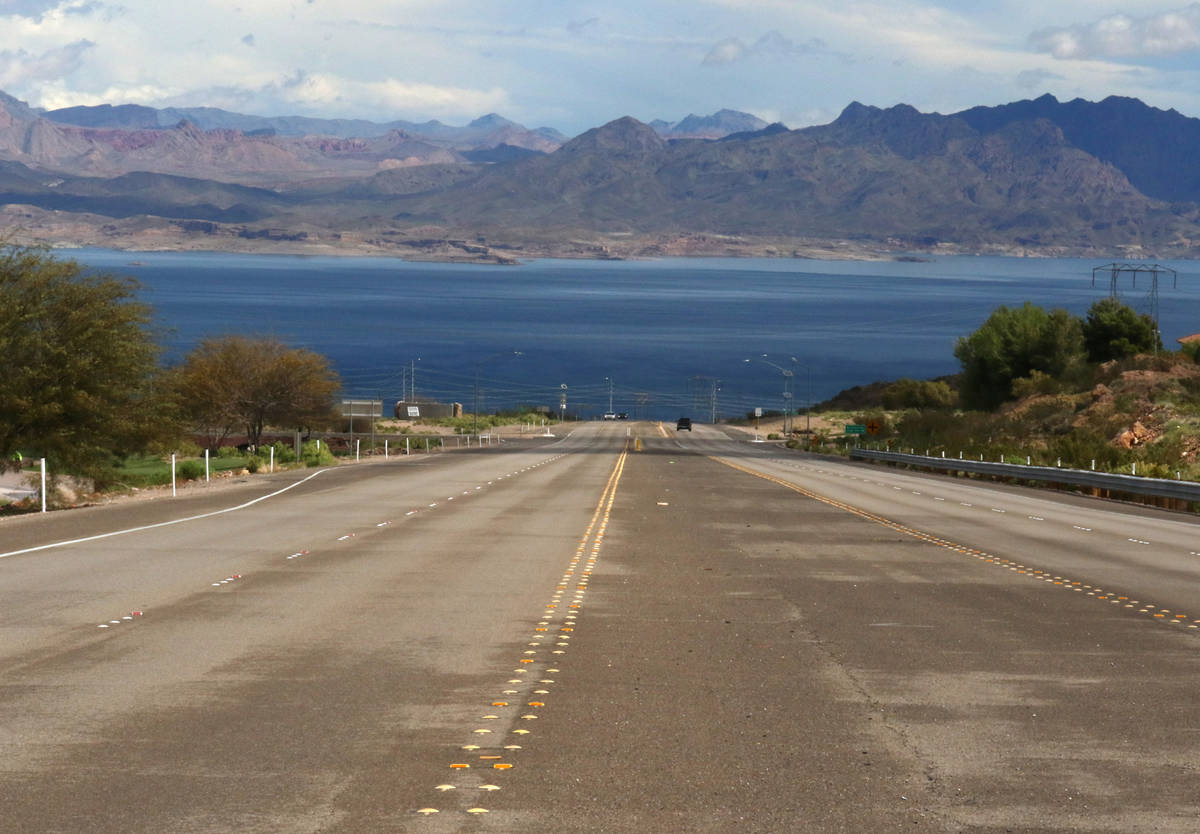 Lake Mead National Recreation Area is seen Monday, March 23, 2020. All park facilities includin ...