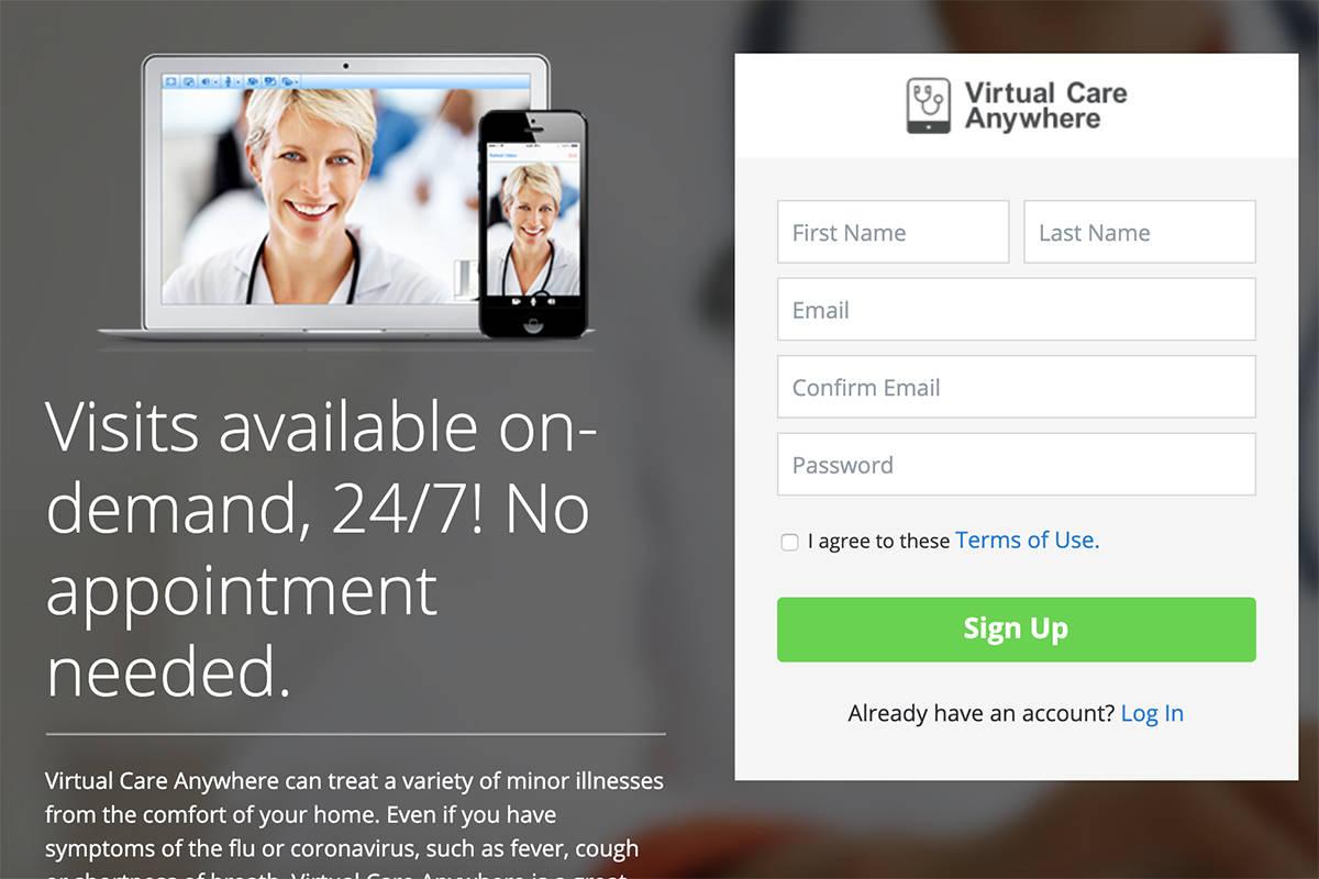Virtual Care Anywhere screenshot