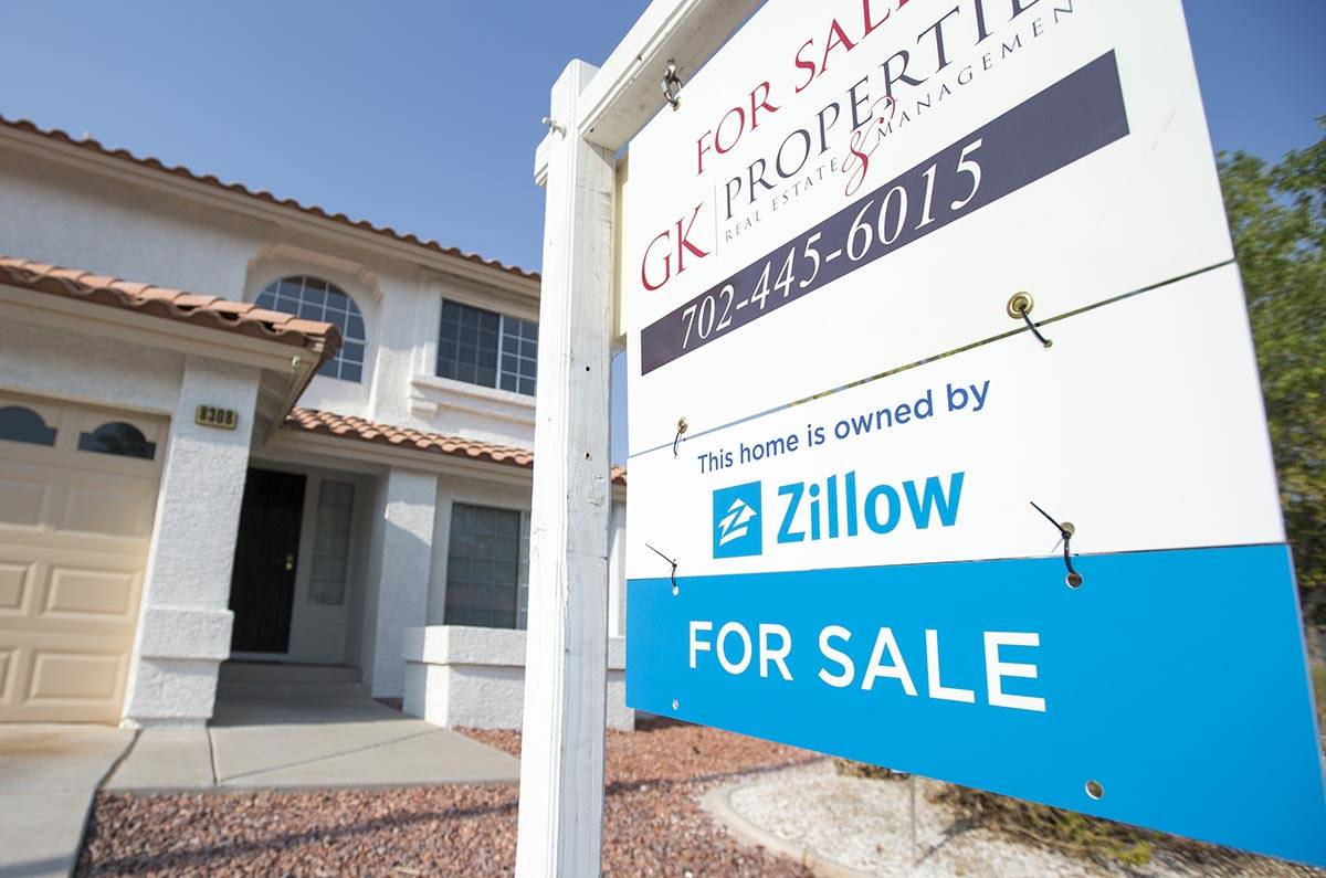 A home owned by the online real estate company Zillow located at 8308 Cretan Blue Lane in the m ...