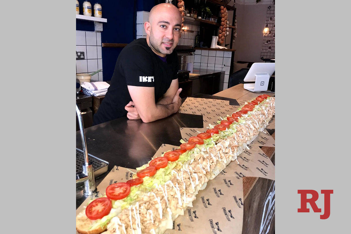 Ike Shehadeh, founder of the Ike's Love & Sandwiches chain, which has two locations ...