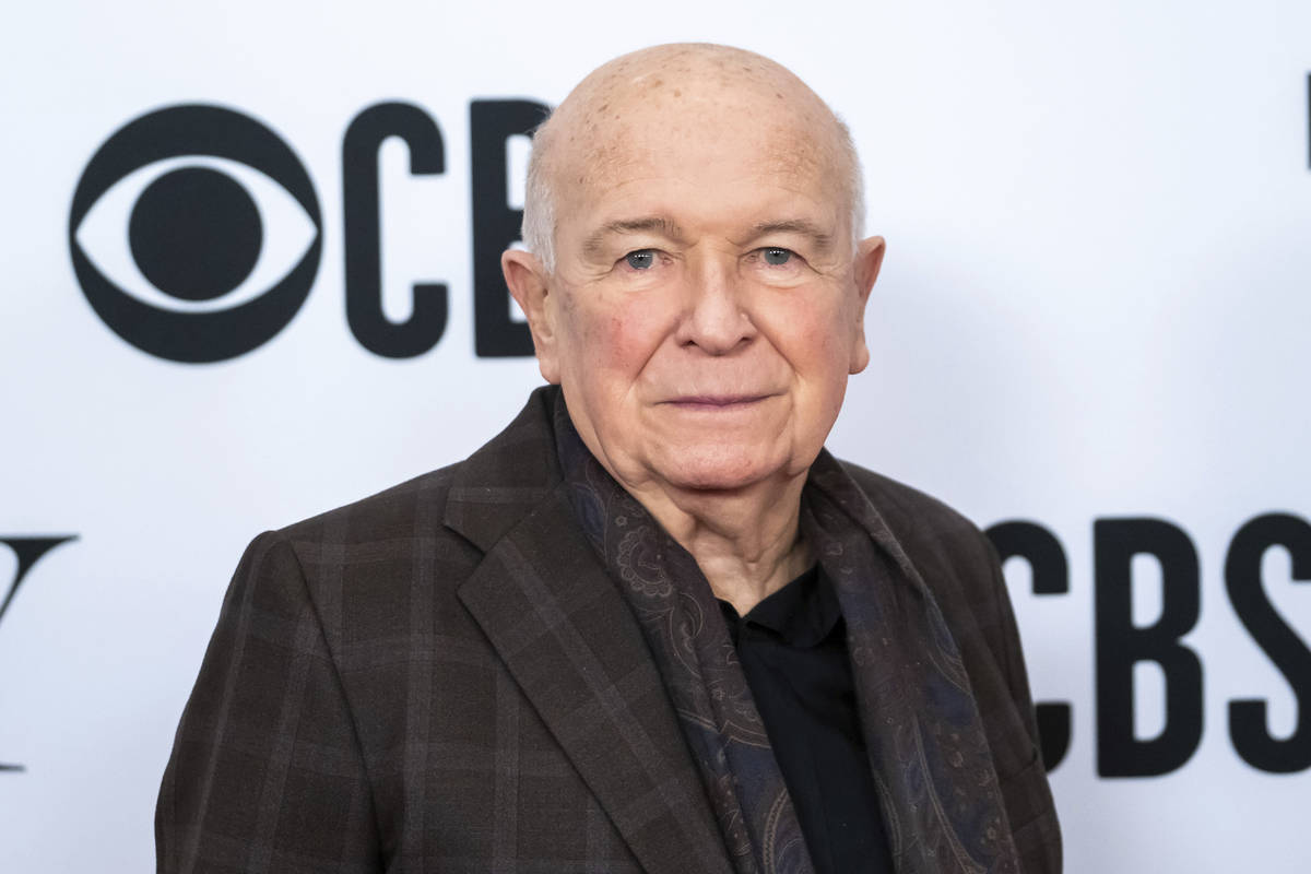 FILE - This May 1, 2019 file photo shows playwright Terrence McNally at the 73rd annual Tony Aw ...