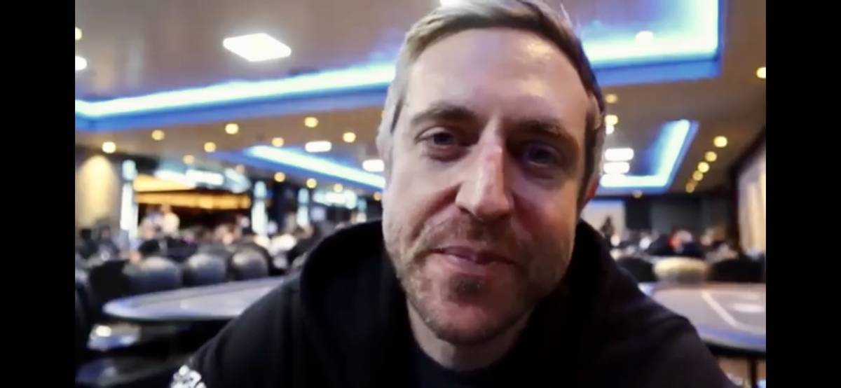 Professional poker player Andrew Neeme runs a successful poker YouTube channel that usually chr ...