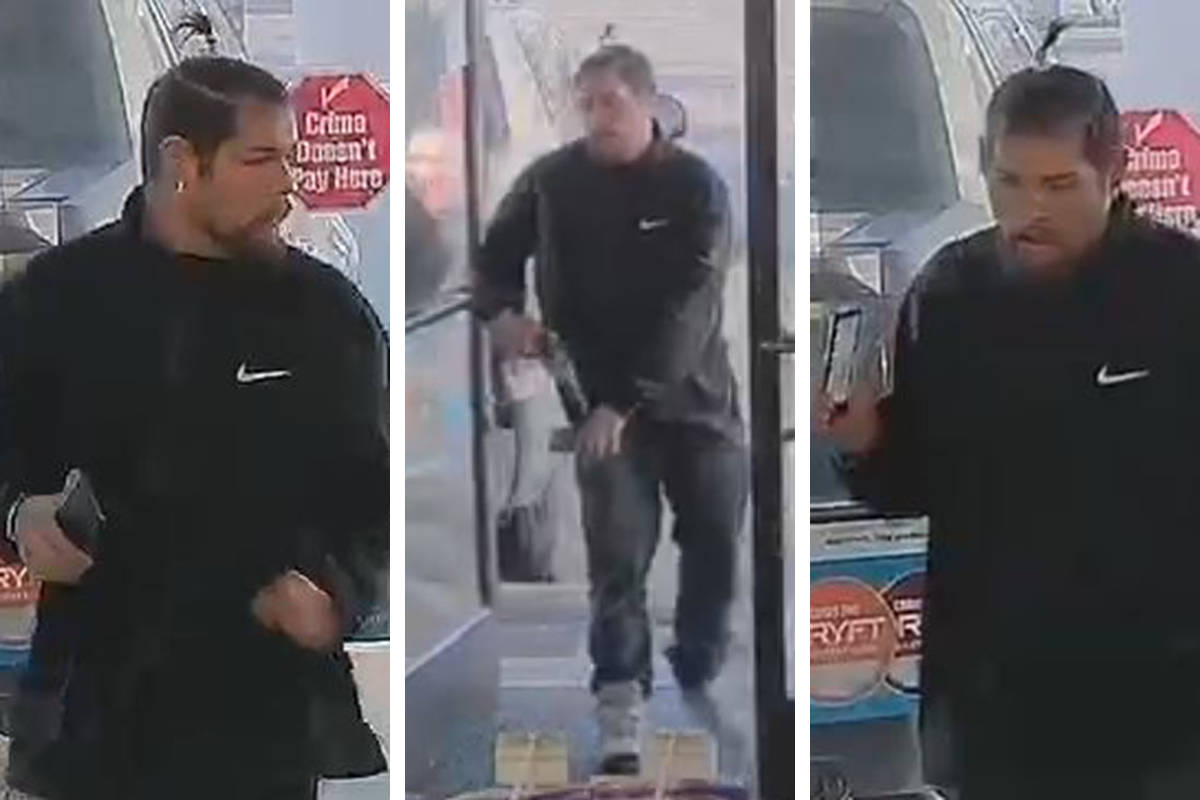 Police are seeking a man in connection to a robbery Tuesday, March 24, 2020, on the 3700 block ...