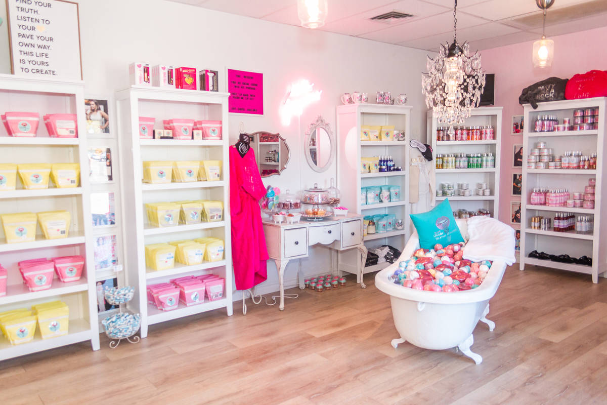 Beauty Kitchen Boutique's store in Boulder City is pictured. (Photo courtesy of Beauty Kitchen ...