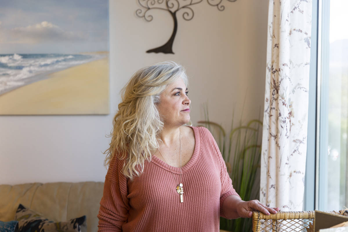 Donna Wilburn, a licensed marriage and family therapist at Red Rock Counseling, on Thursday, Ma ...