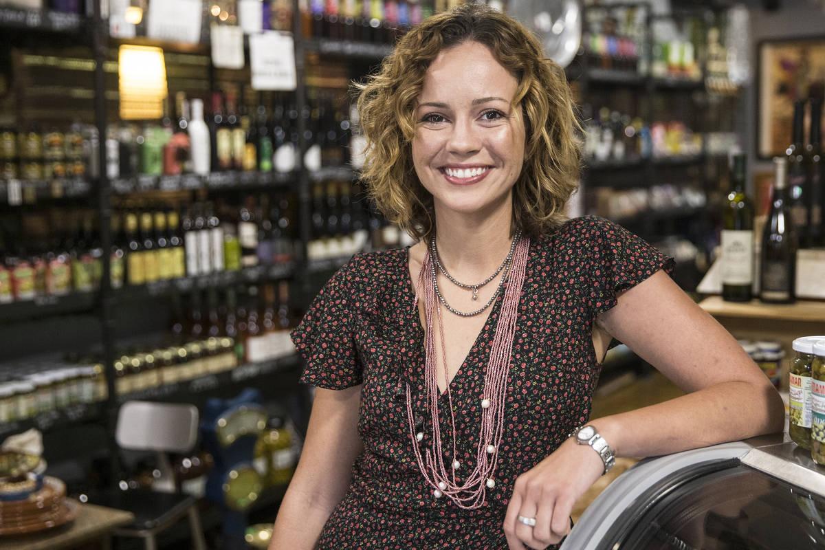 Nina Manchev at Forte Tapas. (Benjamin Hager Las Vegas Review-Journal) @benjaminhphoto