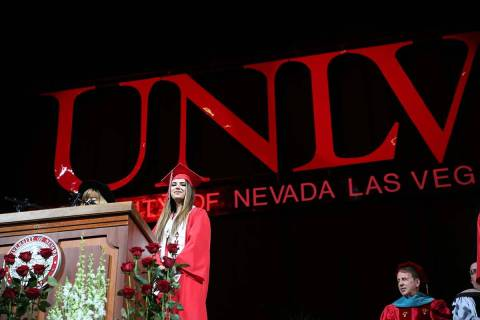 Spring commencement ceremonies at UNLV and other public colleges and universities in Nevada wil ...