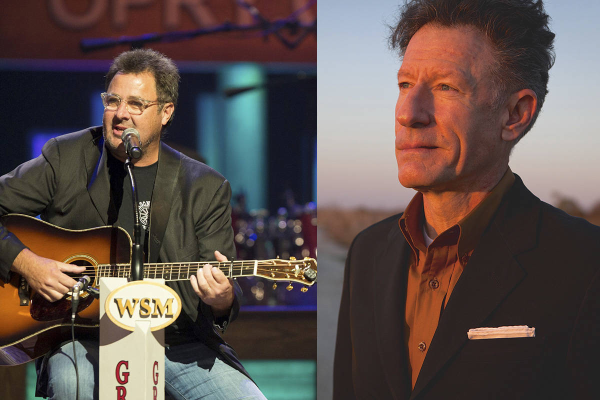 Vince Gill and Lyle Lovett (Courtesy)