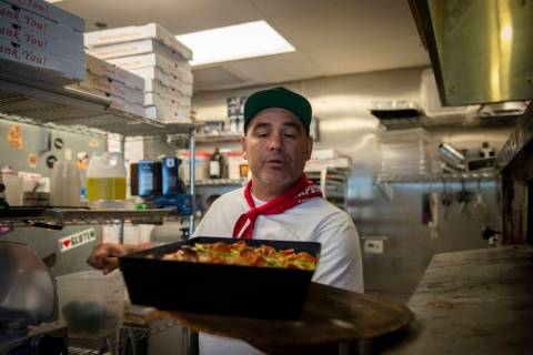 At Good Pie in Pawn Plaza, Vincent Rotolo has temporarily shuttered after having one of his bes ...