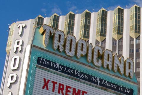 The Tropicana resort in Las Vegas (Las Vegas Review-Journal)