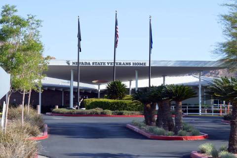 Three residents at the Southern Nevada State Veterans Home in Boulder City have tested positive ...