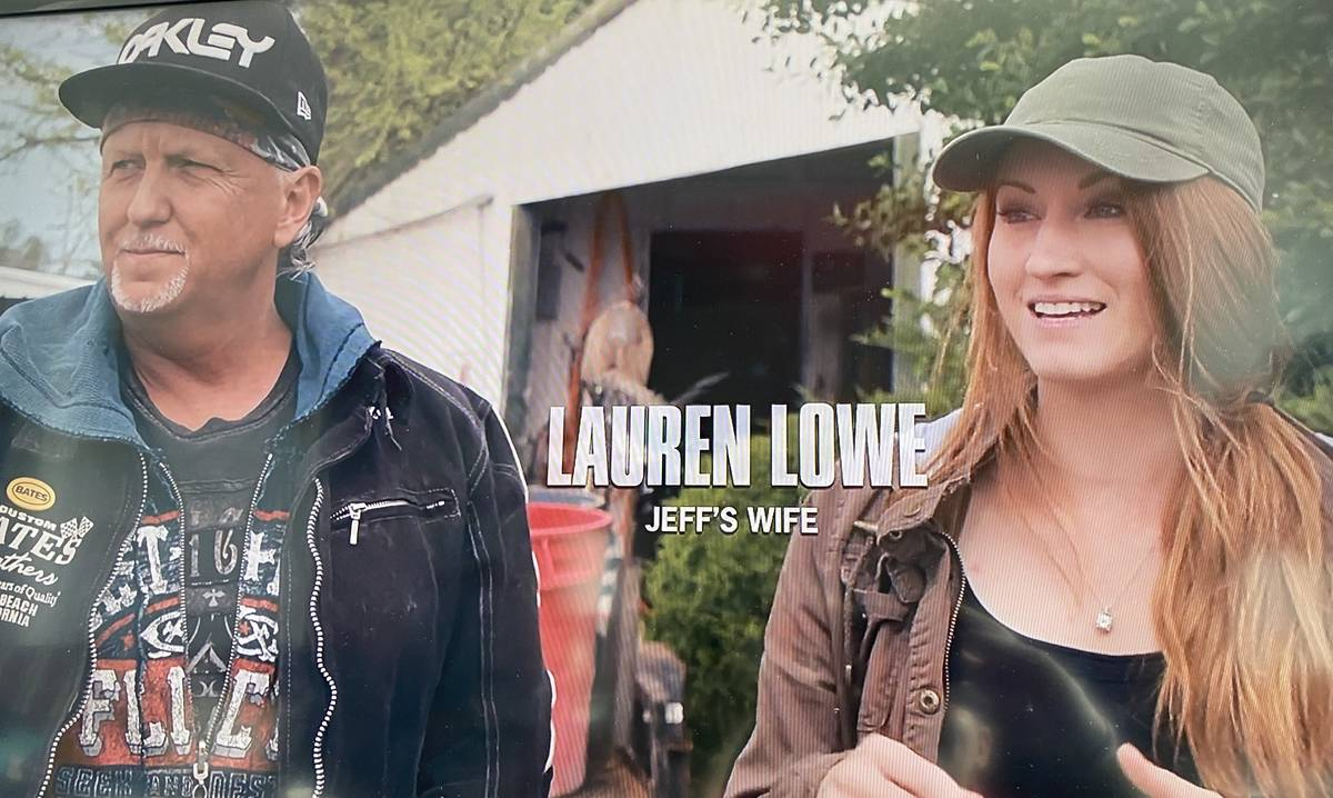 "Jeff and Lauren Lowe are shown in a screen grab of the Netflix documentary series ""Tiger King."" ..."