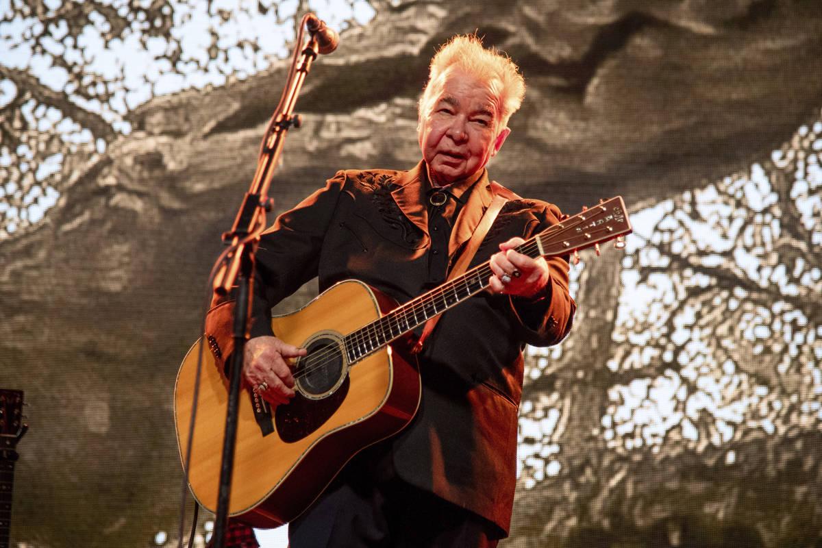 FILE - This June 15, 2019 file photo shows John Prine performing at the Bonnaroo Music and Arts ...