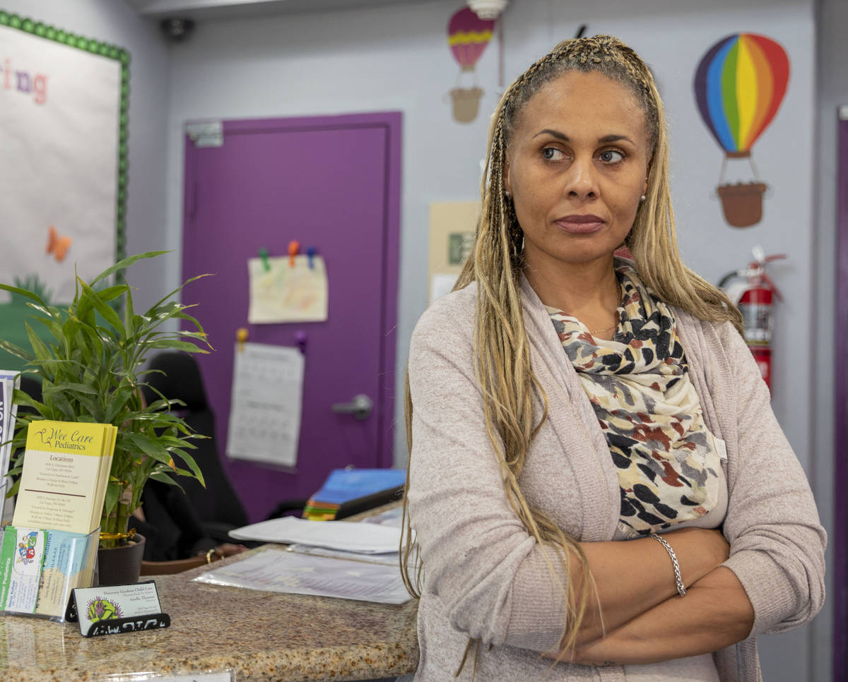 Discovery Gardens Childcare director Ariella Thomas is photographed at the Bonanza Street locat ...