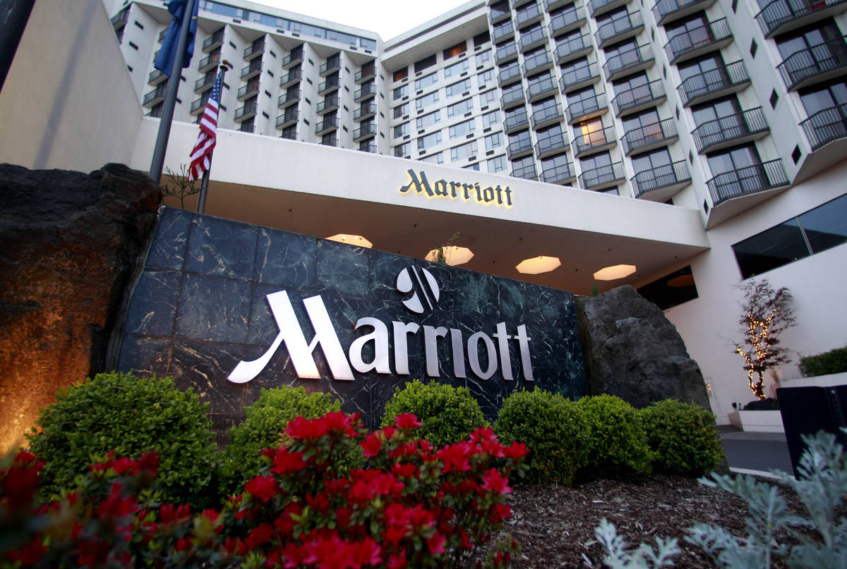 Marriott says on Tuesday, March 31, 2020, approximately 5.2 million guests may have been affect ...