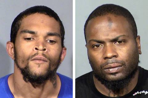 Marcus Woodson, left, and Willie Wells (Las Vegas Metropolitan Police Department)