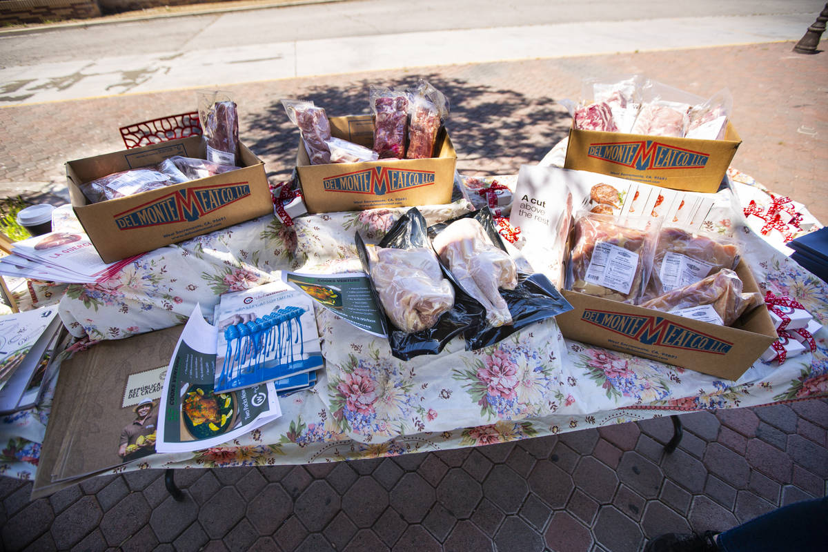 A variety of items from Chef's Warehouse being offered to the public online and at the Downtown ...