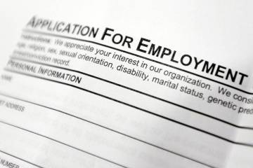 Nevada unemployment payments make $14 million dent to state fund in one week (AP Photo, file)