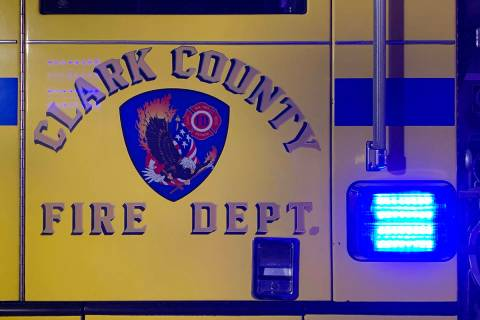 Clark County Fire Department (Las Vegas Review-Journal)