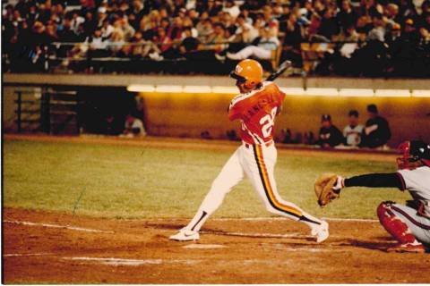 Rick Lancellotti hit 29 home runs with a franchise-record 131 RBIs for the 1984 Las Vegas Stars ...