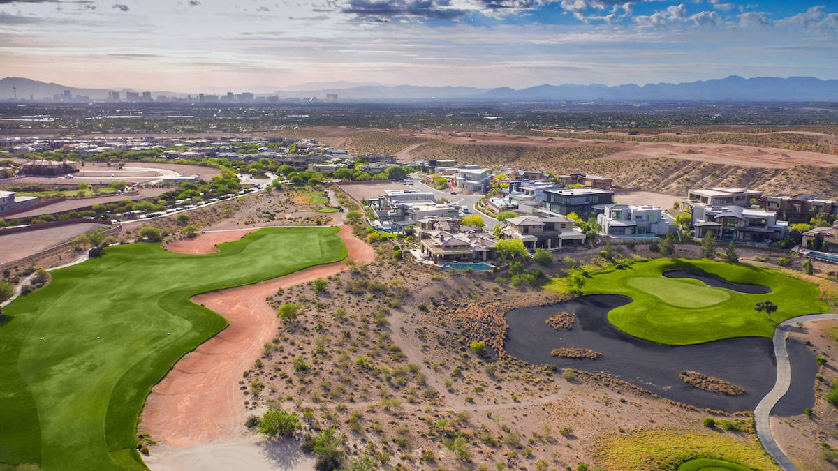Summerlin is about 3,500 feet above sea level — with areas of the community topping out at mo ...