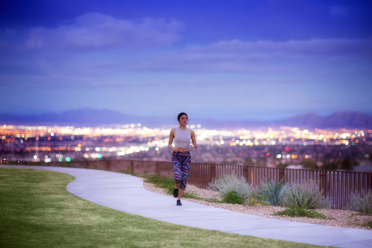 It's easy to stay active in Summerlin thanks to the community's abundance of recreational a ...
