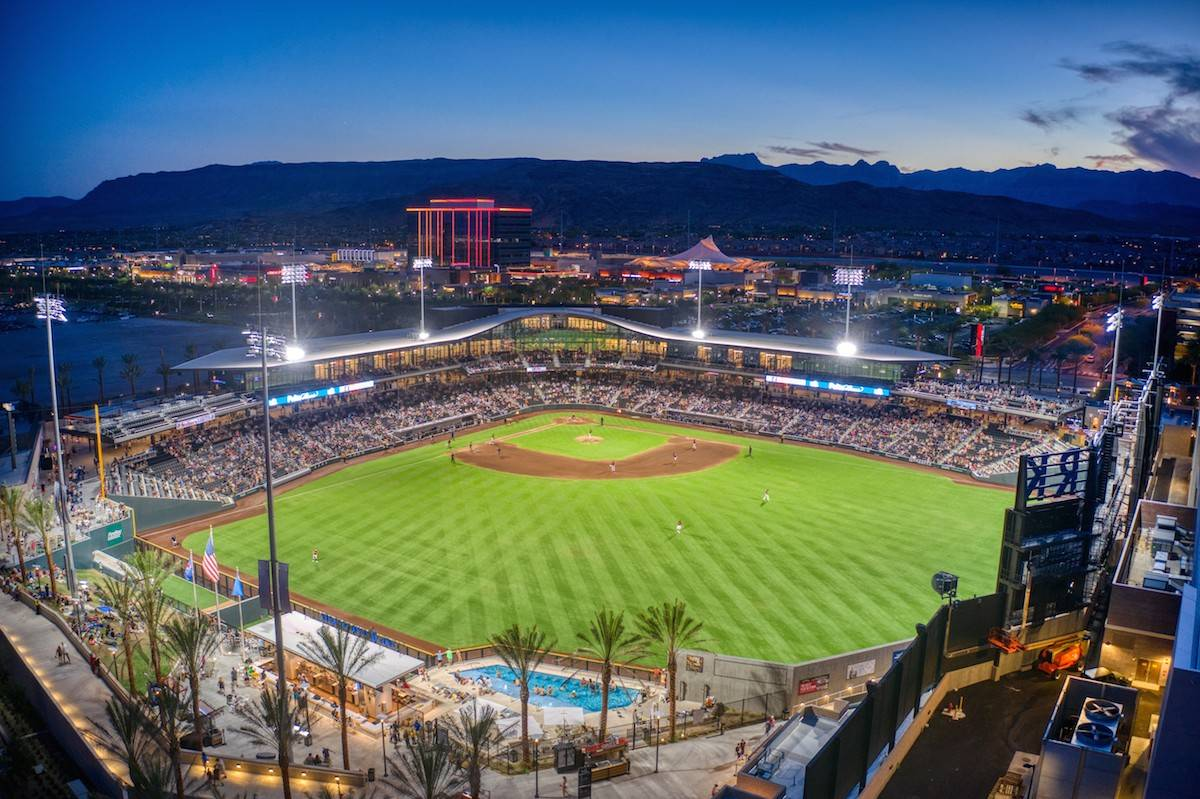 Summerlin has two professional sports facilities, the City National Arena and Las Vegas Ballpar ...